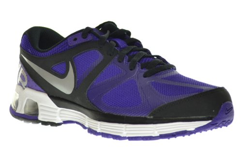 watch cf282 edc07 NIKE Air Max Run Lite 4 (GS) Big Kids Sneakers Electro Purple Metallic  Silver-Black 555762-501