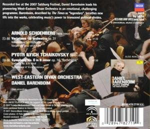 Tchaikovsky: Symphony No. 6 / Schoenberg: Variations, Op. 31