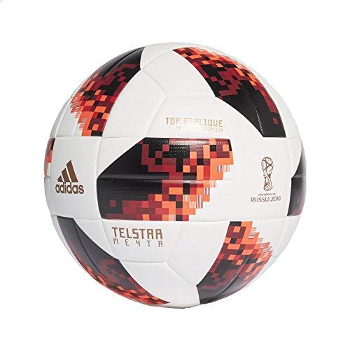 (Telstar Adidas World Cup Russia 18 Knock Out Top Replique Soccer Ball (5 (Ages 13+)))