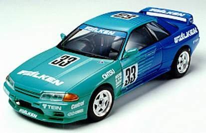 タミヤ 1/24 ファルケン・スカイライン GT-R Gr.N (スポーツカーシリーズNo.117)[24117]