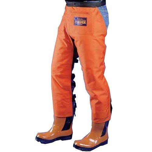 Elvex welje9439prochaps 420Denier delantal estilo, 43', Naranja