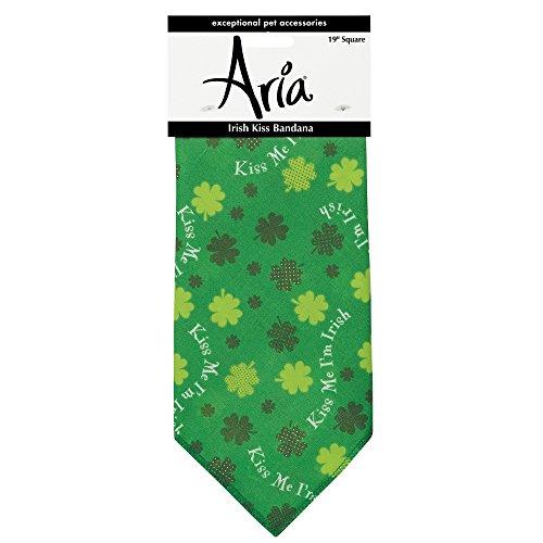 Aria Irish Kiss Bandanas for Dogs