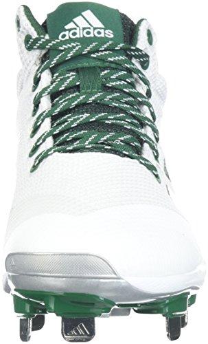 M Green 12 Carbon X White Shoe Silver US Ftwr adidas Freak Met Baseball Mens Mid Dark qA7cn6T