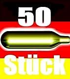 50 pezzi di tappi di birra CO2 per tutti i distributori di birra con 16 g di CO2 come Bierm