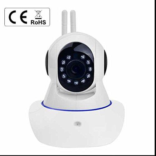 Baby Monitoring ip kamera Alarmanlagen Intelligent Wireless Intelligente Echtzeit ÜBertragung ,PIR Wärmesensor,Plug & Play Überwachungskamera mit WLAN/Audio/App/SD Karte/Cloud Weitwinkel Objektiv 1 MP