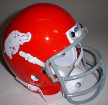 Schutt Arkansas Razorbacks (1964) Mini Throwback Football Helmet from