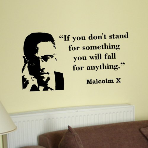 Amazon.com: Malcolm X If You Dont Stand for Something Inspirational ...