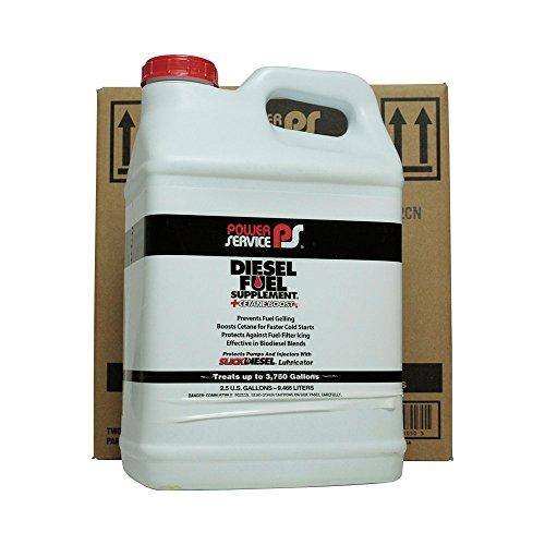 Power Service 01050-02 +Cetane Boost Diesel Fuel Supplement – 2.5 Gallon