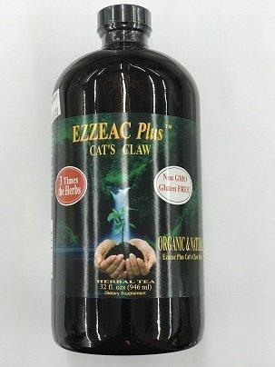 Ezzeac Plus Herbal Tea w/ Cat's Claw Nature's Unique 32 oz Liquid ()