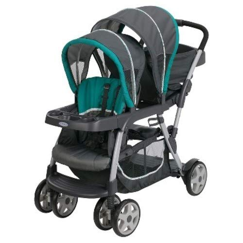 Graco Ready2Grow Click Connect Double Stroller Smarties