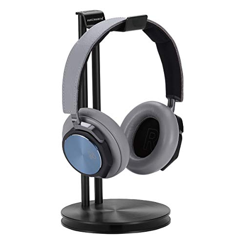 Just Mobile HeadStand High-Design Aluminum Headphone Hanger - Black (HS-100BK) ()