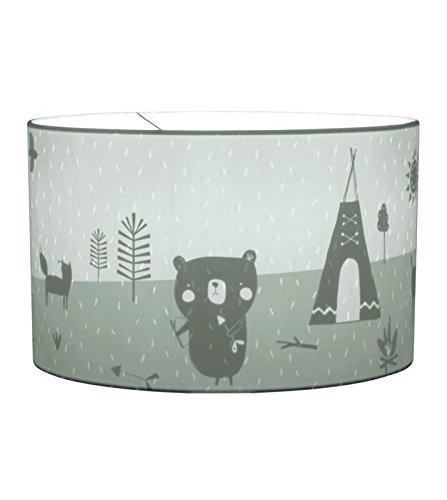 LITTLE DUTCH 10426 Deckenlampe H/ängelampe Silhouette Adventure mint