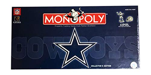 USAopoly Dallas Cowboys Monopoly Retired