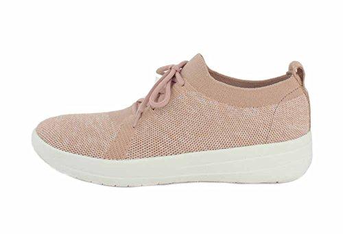 F-Sporty Uberknit Sneaker - Neon Blush/Urban White