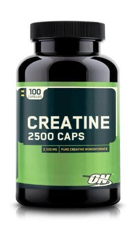Optimum Nutrition Creatine 2500mg, 100 Capsules Pack of 2