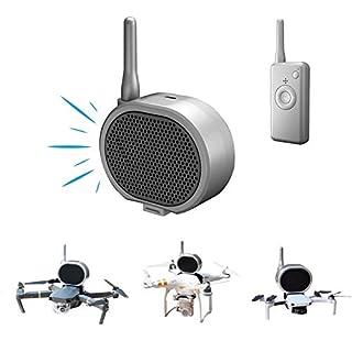 TOMAT Mini Loudspeaker Real Time Megaphone Portable Long-Distance Interference-Free Microphone Amp for DJI Mavic Mini 2/Mavic Air 2/Mavic Pro 2/Phantom 3 4 /Xiaomi Drone