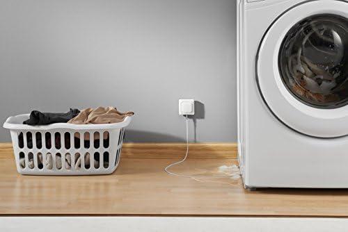 Honeywell Home RCHW3610WF1001/N Wi-Fi Water Leak Detector, White