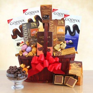 The Best of Godiva Gift Basket by The Gift Basket Gallery
