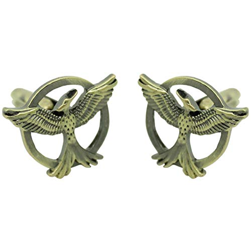 Athena Brands Hunger Games Fashion Novelty Cuff Links