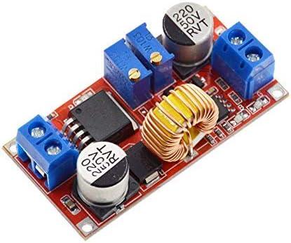 Icquanzx 5a Dc Buck Abwärtsspannungswandler Elektronik