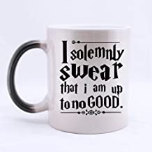 Top Funny Harry?Potter mug - I SOLEMNLY SWEAR THAT I AM UP TO NO GOOD Morphing Coffee Mug or Tea Cup,Ceramic Material Mugs - 11oz