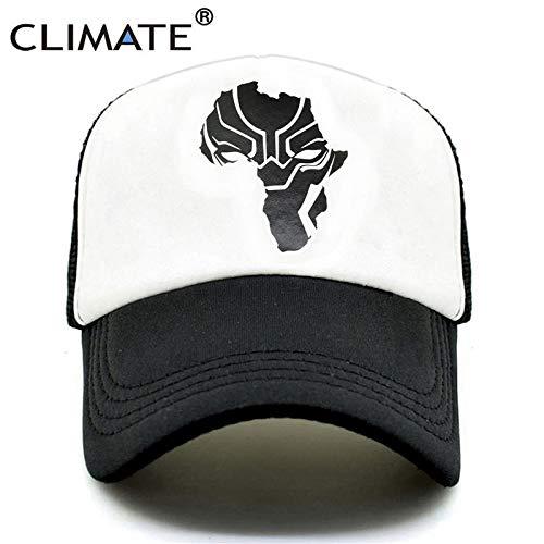 e0329aa9 INF Climate Wakanda Black Panther Caps Hat Men Women Trucker Cap Cool  Summer Caps Super Hero Adjustable Baseball Mesh Cap Hat Men: Amazon.in:  Clothing & ...