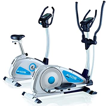 Kettler Viteo P / Sinto P - Elíptica de fitness, color plateado / azul