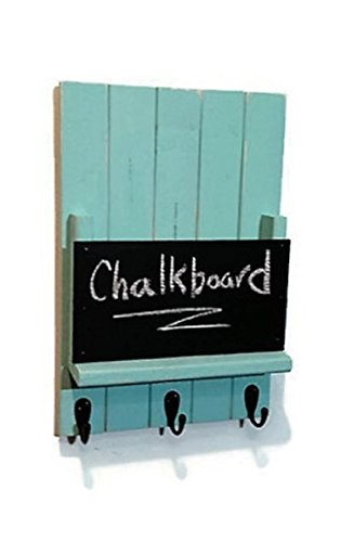 renewed-dcor-melbourne-mail-organizer-with-chalkboard-featuring-3-key-hooks-single-mail-slot-with-a-