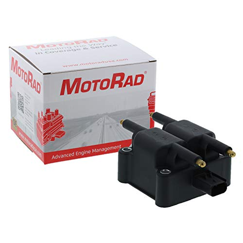 MotoRad 3IC400 Ignition Coil | Fits select Chrysler Cirrus, PT Cruiser, Sebring, Voyager, Dodge Avenger, Caravan, Neon, Stratus, Eagle Talon, Jeep Liberty, Wrangler, Mini Cooper, Mitsubishi - Eagle Talon Jeep