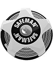 Safeman® Bloqueo de Cable multifunción (Blanco)
