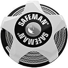 SAFEMAN cable lock, ski lock, snowboard lock - multifunctional lock with key