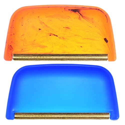 - 2 Pcs Multi-Fabric Cashmere Comb, Sweaters Trimmer/Lint Remover, Removes Fuzz, Pilling, and Lint from Garments