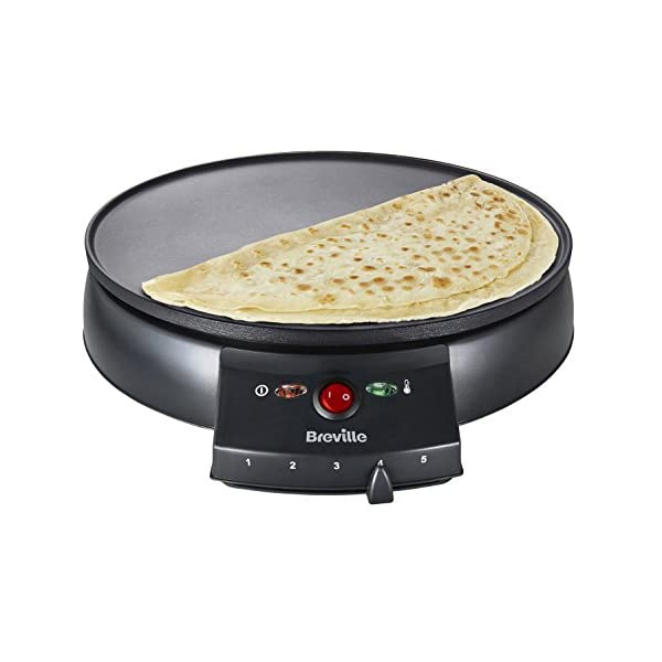 Breville VTP130 Traditional Crepe Maker, 12-Inch, Black 1