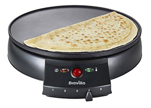 Breville VTP130 Traditional Crepe Maker, 12-Inch, Black