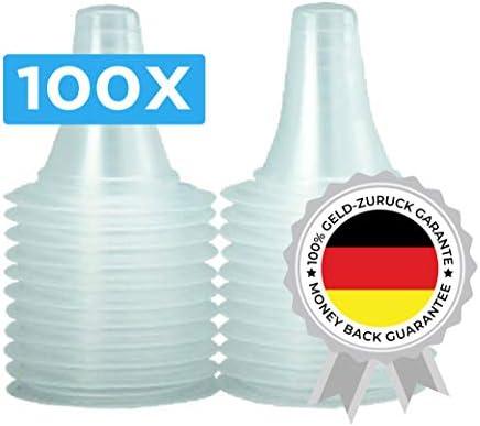 100 Ersatzschutzkappen für Braun Thermoscan Thermometer T10102020 138273
