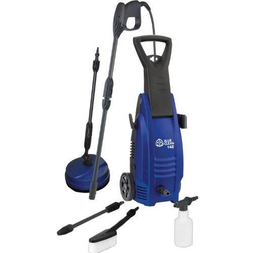 AR Blue Clean AR142-P 1600 PSI Cold Water Electric Pressure Washer with Accessories