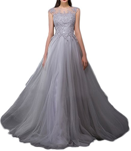 Prom Style Damen Prinzessin Spitze Abendkleider Ballkleider ...