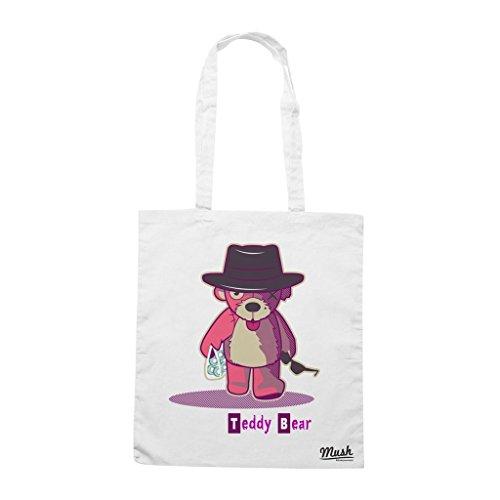 Borsa Teddy Bear 2 Breaking Bad - Bianca - Film by Mush Dress Your Style