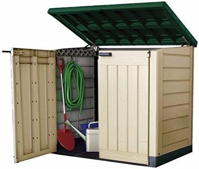 Keter caja de unidad de almacenamiento de plástico Jardín ...