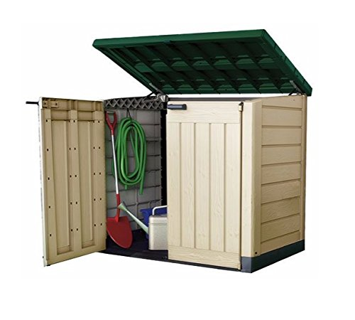 keter plastic storage unit box garden shed outdoor sheds for wheelie bins tools bikes lawn mowers - Garden Sheds Very
