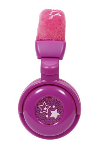 Nickeloden Victorious Plush DJ Headphones - Purple (35163) by Sakar