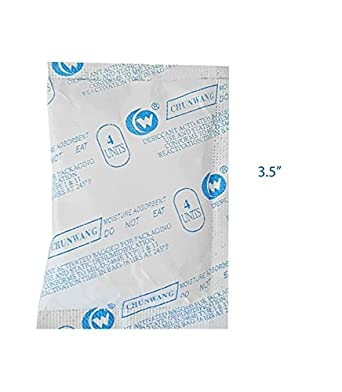 Amazon.com: Paquete de 10 bolsas de gel de silicona para ...