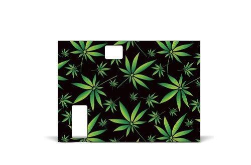 Wrap 4 Innokin iTaste MVP 2.0 Energy Vapor Skin Decal Sticker Electronic Weeds Black