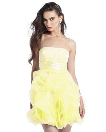 Clarisse Short Pick-Up Skirt Prom Dress 1336 at Amazon