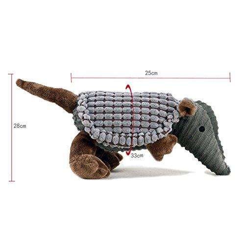 Karmax Pet Supplies Plush Armadillo Squeaky Dog Training Toy by Karmax Foley by Karmax Foley (Image #1)