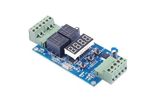 KNACRO DC 24V Programmable Time Relay 30 Groups time Multi-stage set on / off switch Multi-group timing dual 2-way control (Pneumatic Relay)