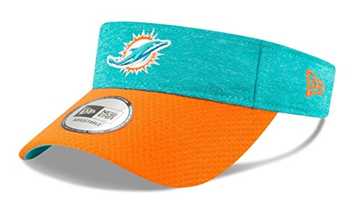 - New Era Miami Dolphins NFL 2018 Official Sideline Performance Visor