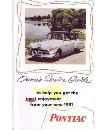 (1951 PONTIAC Full Line Owners Manual User Guide)