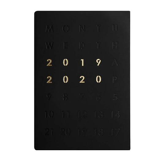 Bgbm Organizador Personal Agenda Semana Vista Agenda 2019 ...