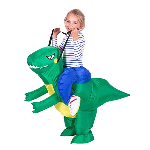 Yeahbeer Inflatable Halloween Costume Dinosaur Children Carry On Animal Fancy Dress Costume - Inflatable Dinosaur Costumes
